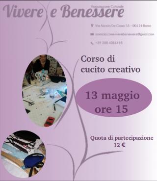 Corso base di cucito creativo