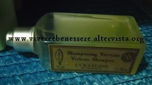 shampoo verbena L'Occitane