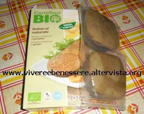 Seitan al naturale Carrefour Bio