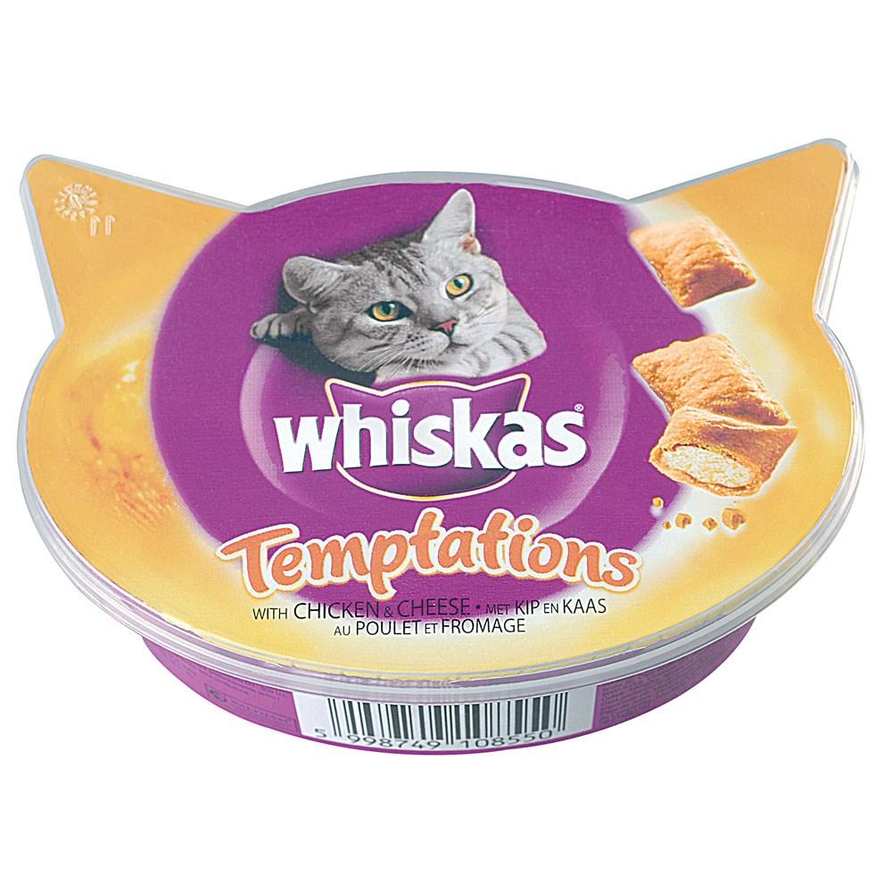 Whiskas Temptations pollo formaggio