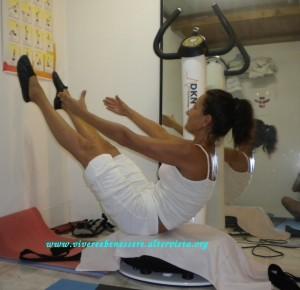 pedana vibrante allenamento