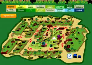 mappa fattoria degli animali ostia antica