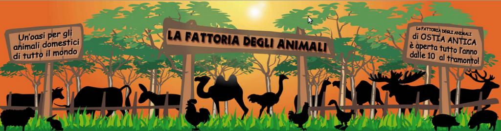 fattoria degli animali ostia antica