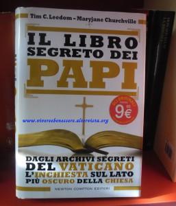 Il libro segreto dei Papi -Leedom, Churchville