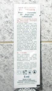 Olio Capelli Sapote Provenzali
