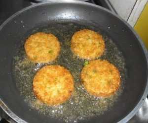 Verde Amore veggie mini burger