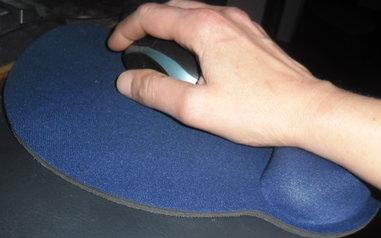 Tappetino ergonomico poggia polso
