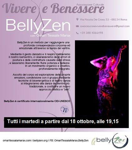 BellyZen, danza del ventre bioenergetica